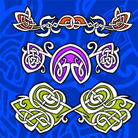 Celtic ornamental design.  Illustration. Vinyl-Ready. Stock Vector - 8268898