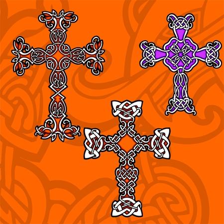Celtic ornamental design.  Illustration. Vinyl-Ready. Stock Vector - 8268891