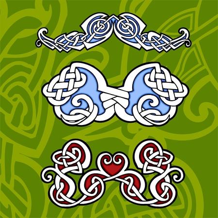 Celtic ornamental design.   Illustration. Vinyl-Ready. Vector