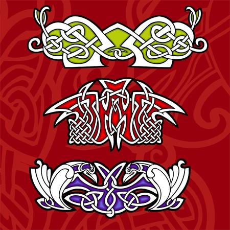 Celtic ornamental design.  Illustration. Vinyl-Ready. Stock Vector - 8268896