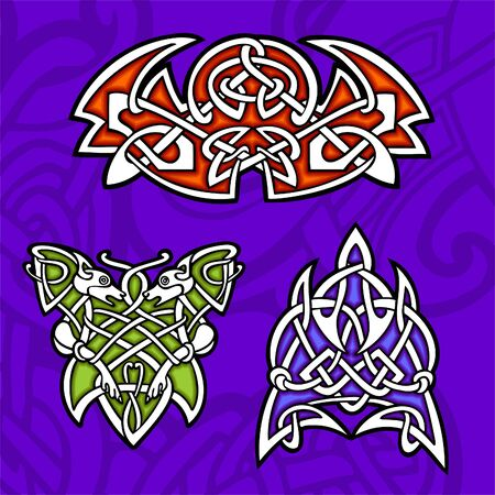 Celtic ornamental design.  Illustration. Vinyl-Ready. Stock Vector - 8268906