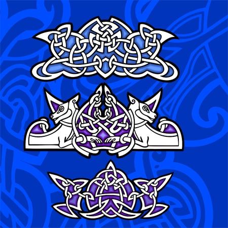 Celtic ornamental design.  Illustration. Vinyl-Ready. Stock Vector - 8268908