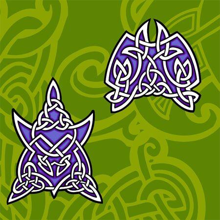 Celtic ornamental design. Illustration. Vinyl-Ready. Stock Vector - 8268934
