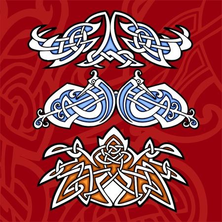 Celtic ornamental design.   Illustration. Vinyl-Ready. Stock Vector - 8268901
