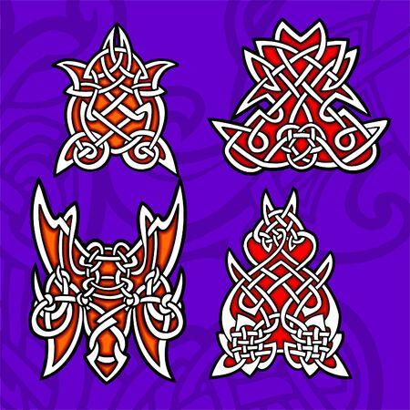 Celtic ornamental design.  Illustration. Vinyl-Ready. Stock Vector - 8268890