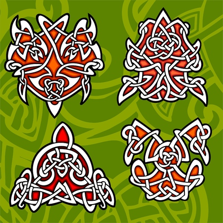 Celtic ornamental design.  Illustration. Vinyl-Ready. Stock Vector - 8268911