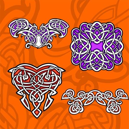 Celtic ornamental design.  Illustration. Vinyl-Ready. Stock Vector - 8268913