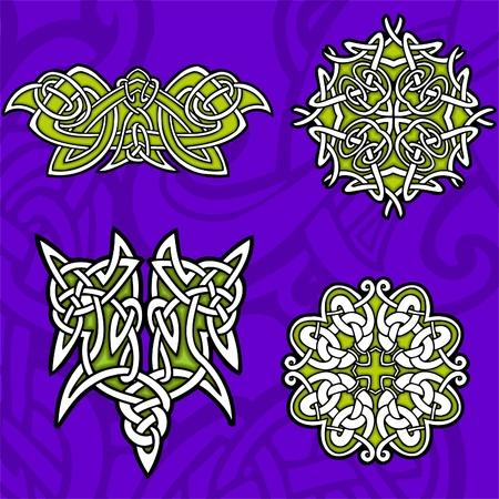 Celtic ornamental design.   Illustration. Vinyl-Ready. Stock Vector - 8268892