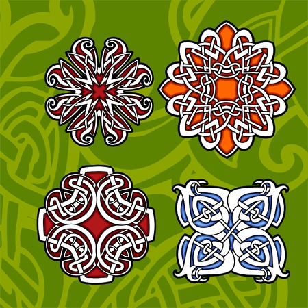 Celtic ornamental design.   Illustration. Vinyl-Ready. Stock Vector - 8268912