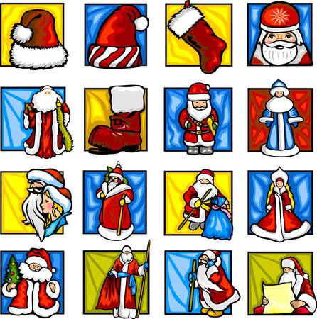 santaclaus: Santa-Claus.  Illustration