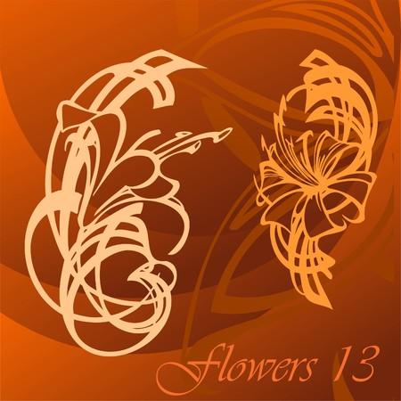 Flower. Stock Vector - 8518690