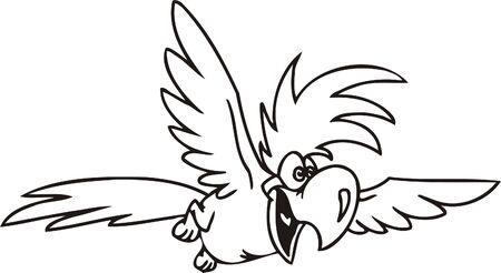 gobble: Funny Birds.Vector Illustration.Vinyl Ready.
