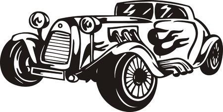 ?ars vintage.Ilustración de vector listo para corte de vinilo.