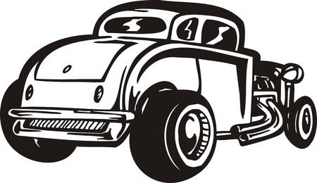 tiges: ?ars vintage.Illustration vectoriel est pr�te pour la d�coupe de vinyle.