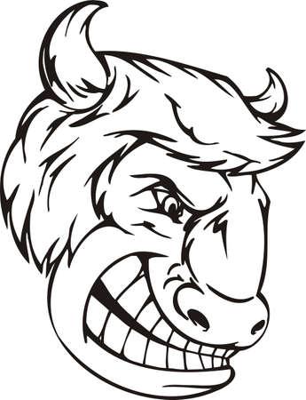 Mascot Templates.Vector illustration ready for vinyl cutting. Vector
