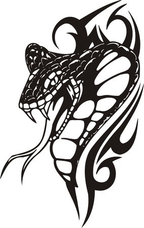 tribales: Ilustraci�n Predators.Vector tribal listo para corte de vinilo.