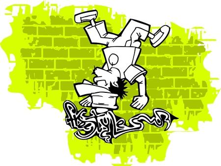 Graffiti -Vector Illustration. Vinyl-Ready.