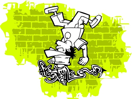 Graffiti -Vector Illustration. Vinyl-Ready.