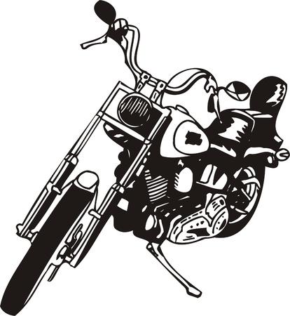 Harley. Vector Illustration. Stock Vector - 8777267