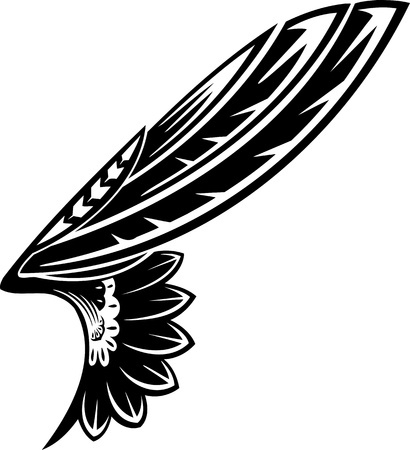 tatouage ange: Wings.Vector illustration pr�te pour la d�coupe de vinyle.
