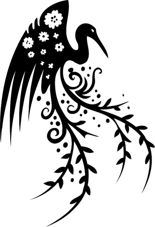 Floral Design - Vinyl-ready vector image! Stock Vector - 11761540