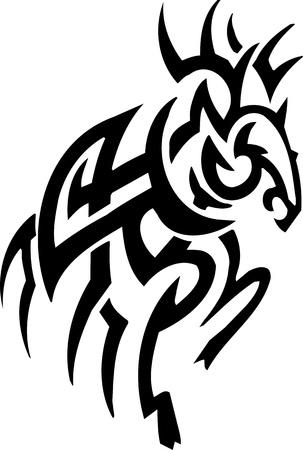 Deer design Stock Vector - 12036241