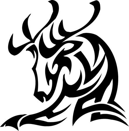 Deer design Stock Vector - 12036229