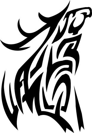 horny: Deer design