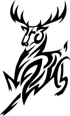 antlers: Deer design