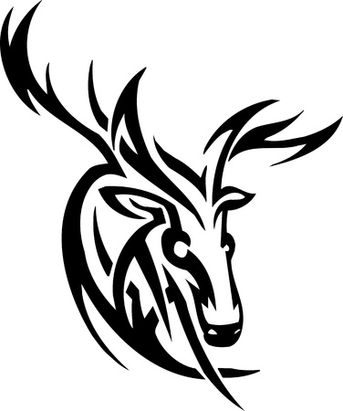 Deer design 版權商用圖片 - 12036240