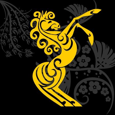 Horse design - vector illustration Stock Vector - 12490775