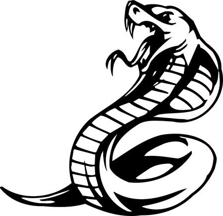 Snake - Halloween Set - vector illustration Ilustrace