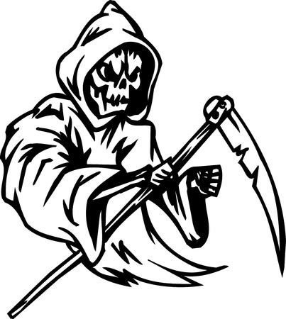 Grim reaper - Halloween Set - vector illustration Vector