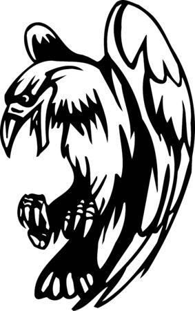 Crows - Halloween Set - vector illustration Stock Vector - 12490988