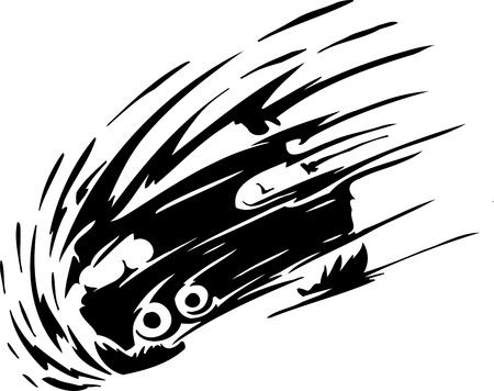 Race car - illustration illustration