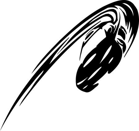 motor racing: Coche de carreras - ilustraci�n Vectores