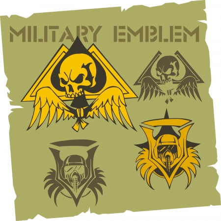 military history: Military Emblem  Illustration