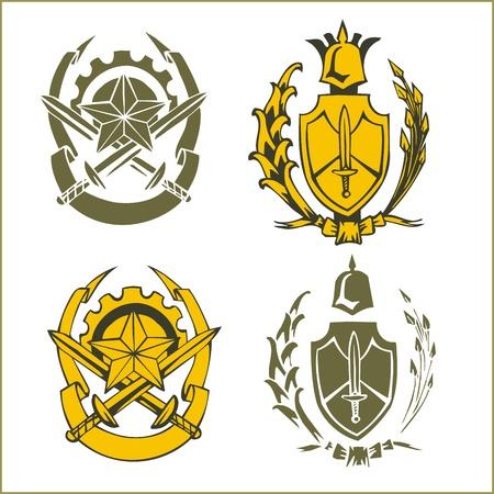 Military Emblem  Stock Vector - 16719419