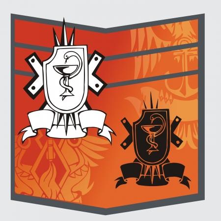 Military Emblem Stock Vector - 16719421
