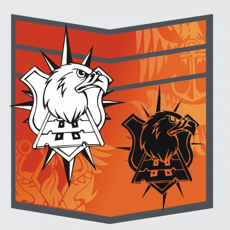 Military Emblem  Stock Vector - 16719427