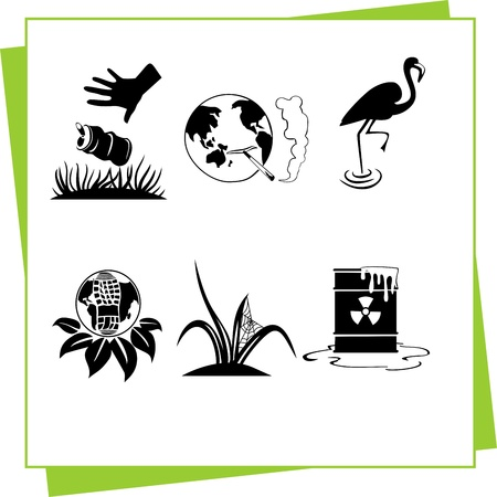 Eco Design Elements and Icons Stock Vector - 17011058