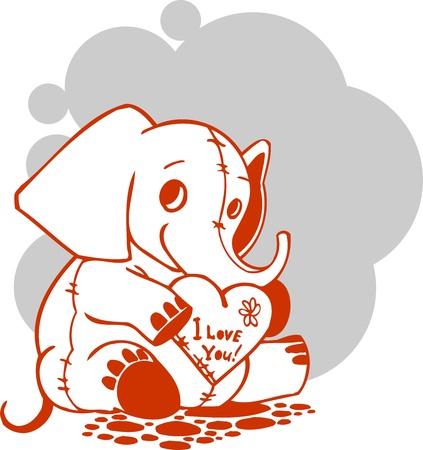Valentines Day - vector illustration  Stock Vector - 17684874