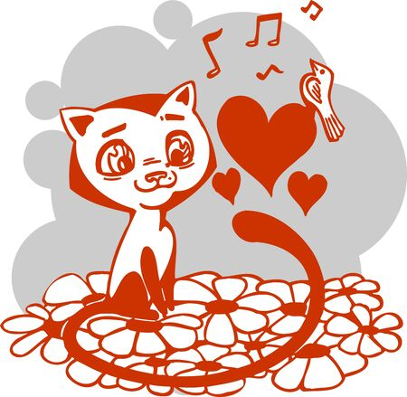Valentines Day - vector illustration  Stock Vector - 17684918