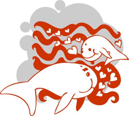 Valentines Day - vector illustration  Vector