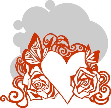 Valentines Day - vector illustration Stock Vector - 17684911