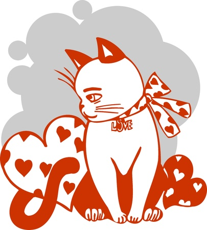 Valentines Day - vector illustration  illustration