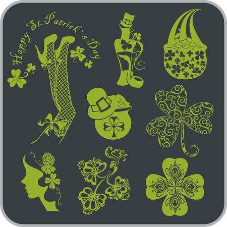 saint patrick's day: Saint Patrick s Day - Vector illustration