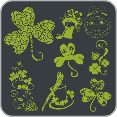 saint patrick��s day: Saint Patrick s Day - Vector illustration