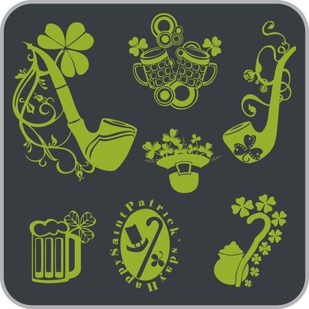Saint Patrick s Day - Vector illustration Stock Vector - 18255130