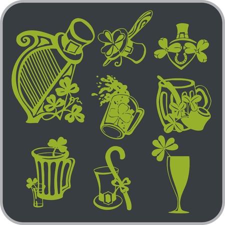 saint patrick��s day: Saint Patrick s Day - illustration